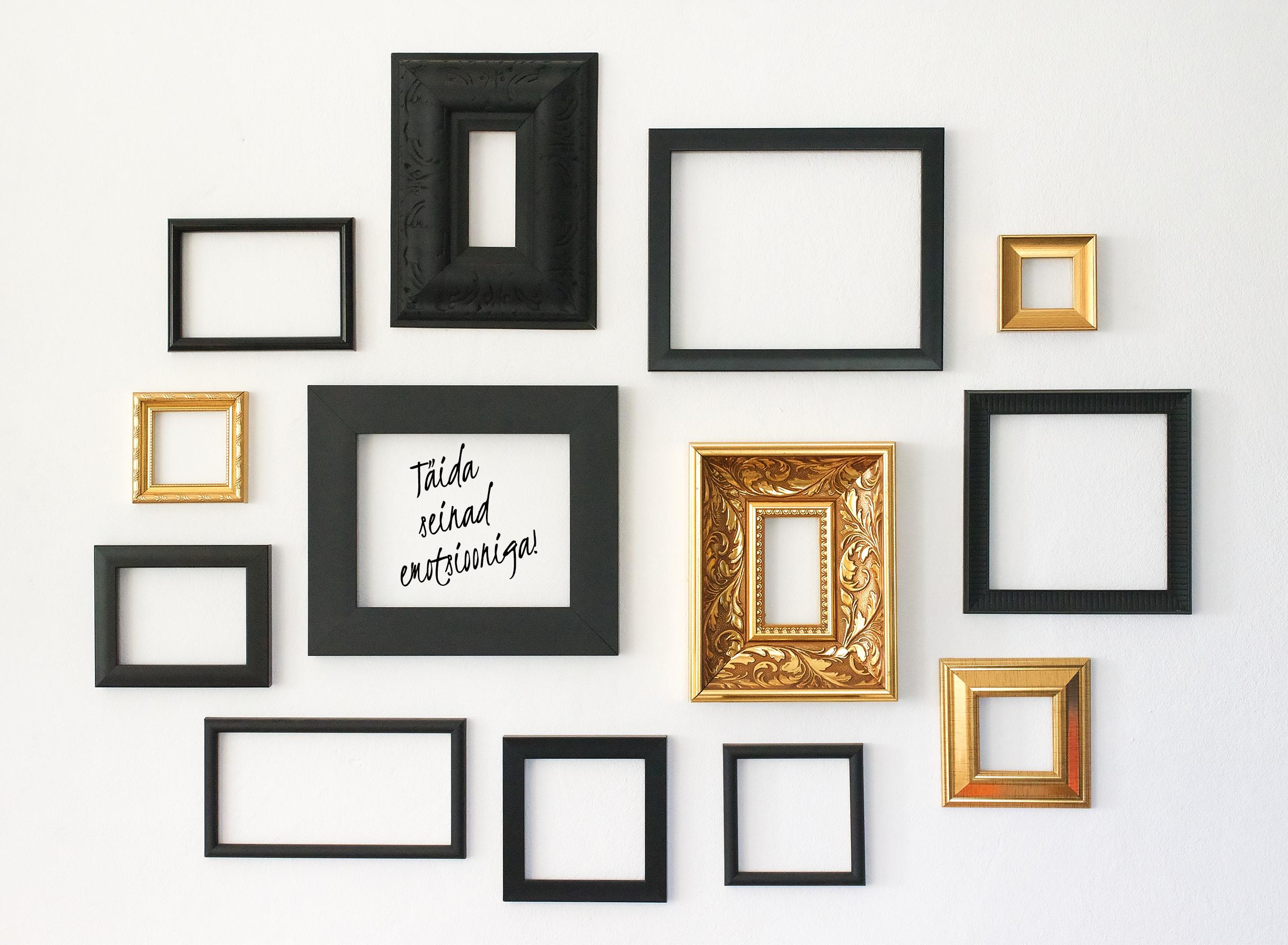 piltide raamimine, peeglid