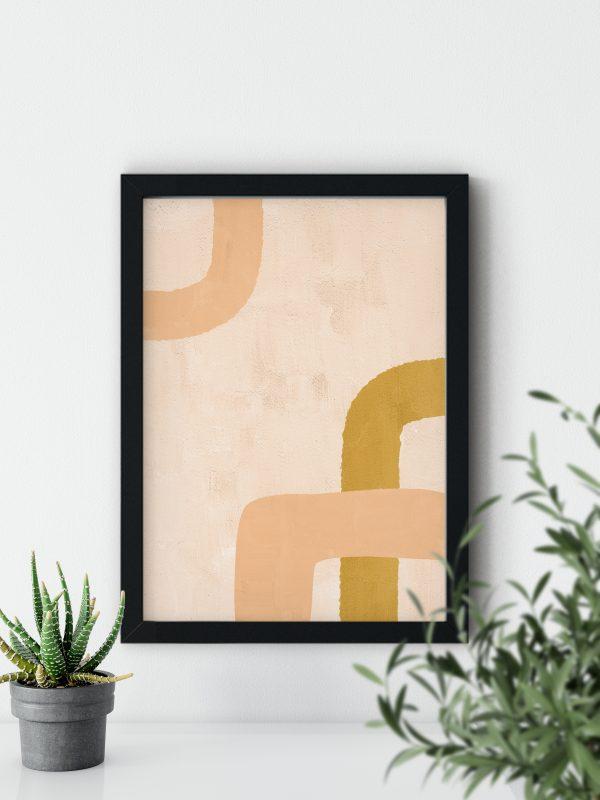 abstraktne poster